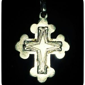 Vintage 14k gold cross